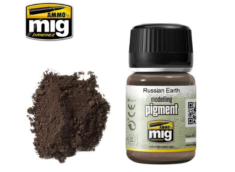 Pigments - Russian Earth