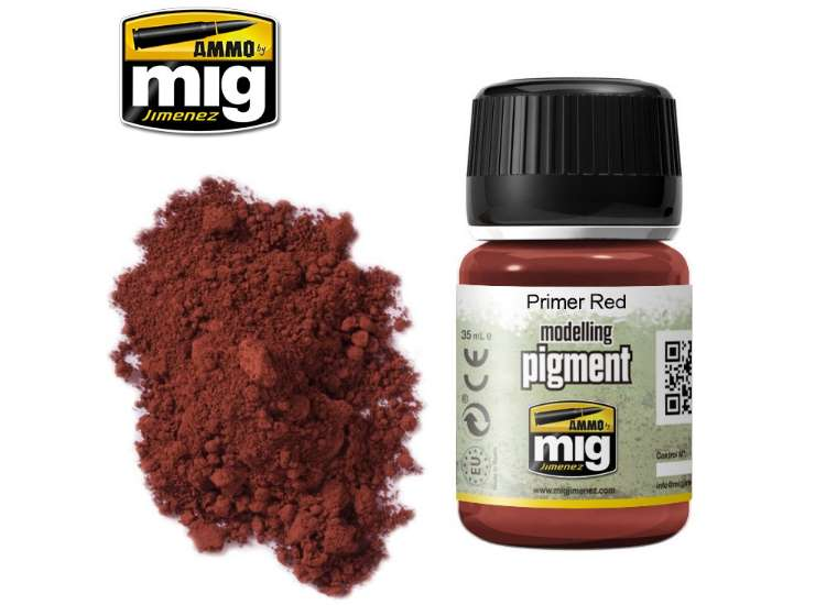Pigments - Primer Red