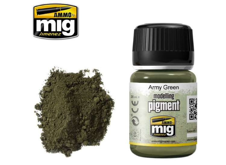 Pigments - Army Green