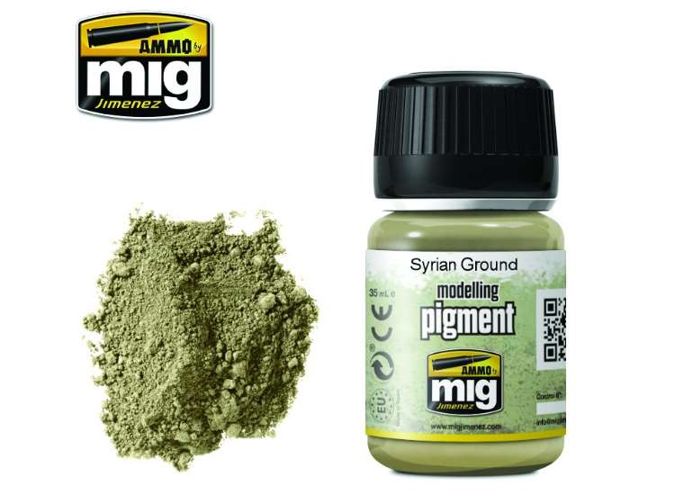 Pigments - Syrian Ground