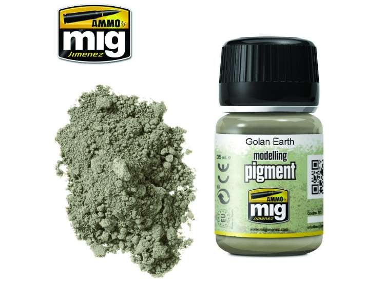 Pigments - Golan Earth