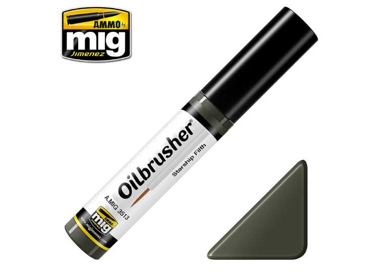 Ammo Mig 10ml 3513 Oilbrusher Paint - Starship Filth