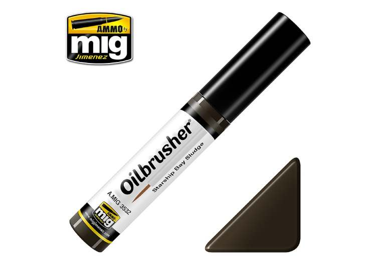 Ammo Mig 10ml 3532 Oilbrusher Paint - Starship Sludge Bay