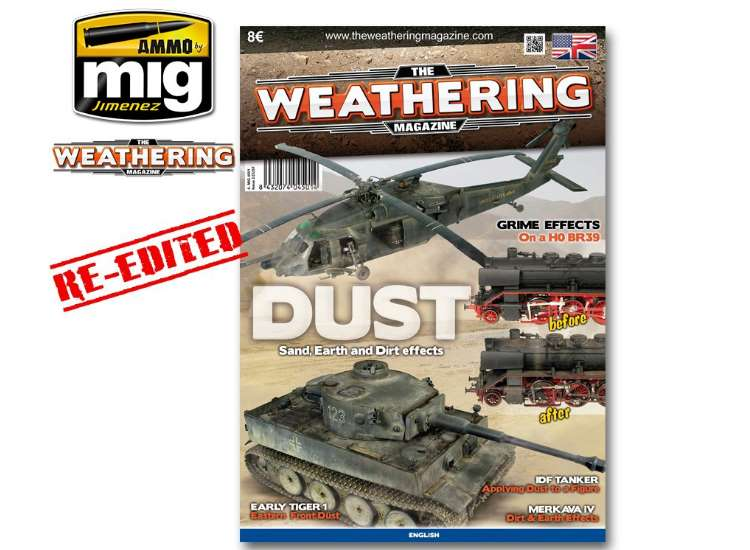 Ammo Mig The Weathering Magazine No 2 - Dust 4501