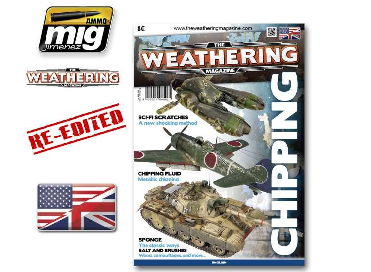 Ammo Mig - 4502 The Weathering Magazine No 3 - Chipping