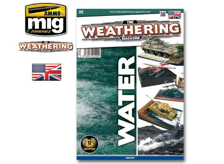 Ammo Mig - 4509 The Weathering Magazine No 10 - Water