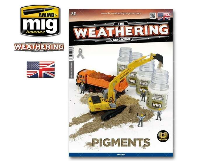 Ammo Mig - 4518 The Weathering Magazine No 19 - Pigments