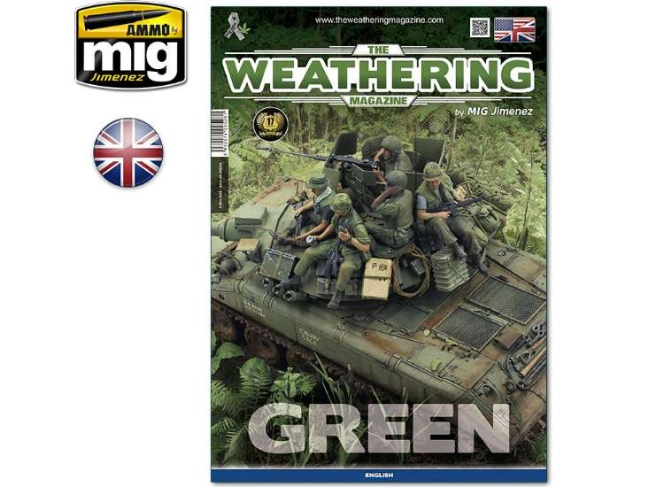 Ammo Mig The Weathering Magazine No 29 - Green