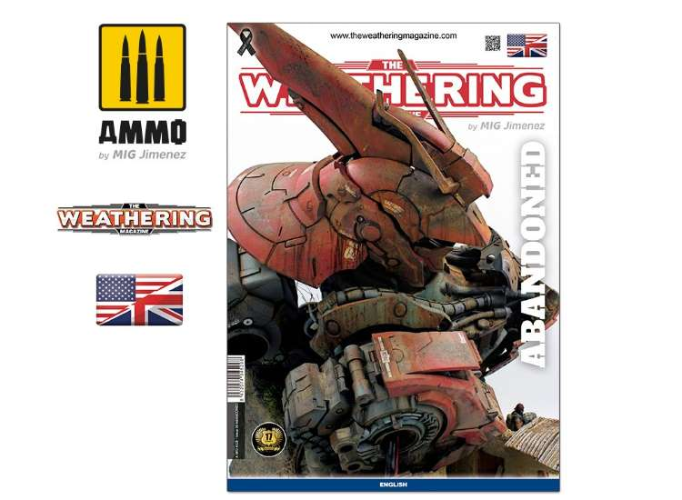Ammo Mig - 4529 The Weathering Magazine No 30 - Abandoned