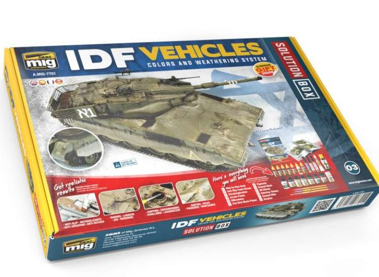 Ammo Mig IDF Vehicles Solution Box 7701