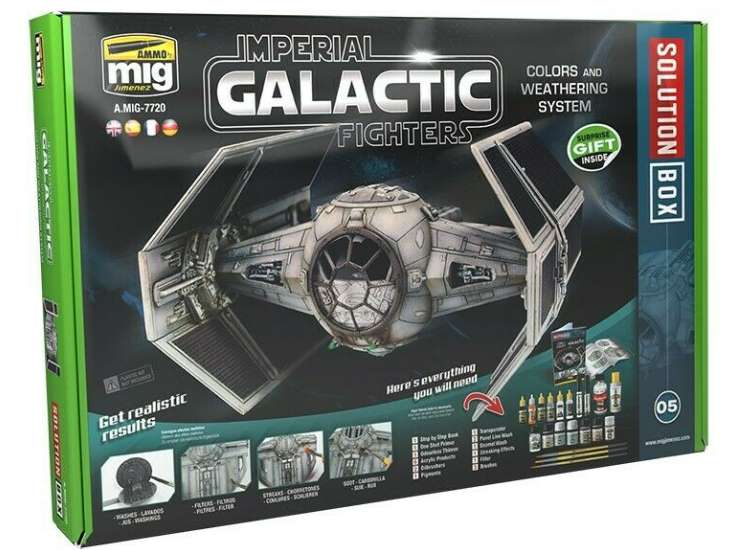 Ammo Mig - 7720 Imperial Galactic Fighters Solution Box