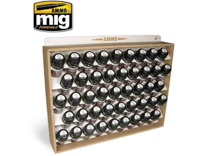 Ammo Mig - 8006 35ml Bottle Storage System (Stores 45)