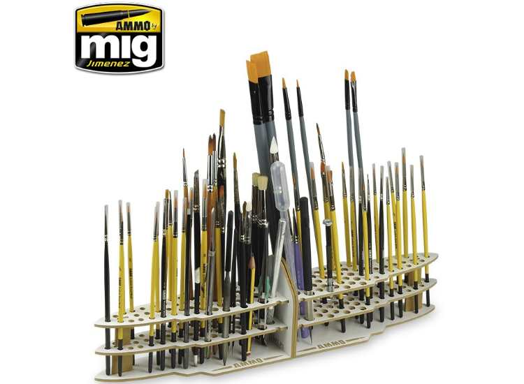 Ammo Mig - 8022 Paint Brush Storage / Organiser