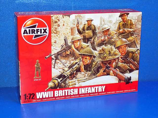 WWII British Infantry N Europe