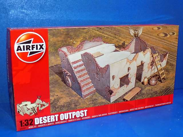 Airfix 1/32 06381 Desert Outpost - *Limited Stock At This Price*