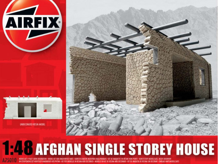 Airfix 1/48 75010 Afghan Single Storey House (A75010)