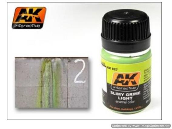 AK Interactive 35ml 00027 Slimy Light Grime