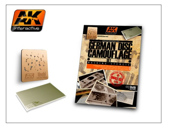 AK Interactive 1/48 00158 German Camo Disc