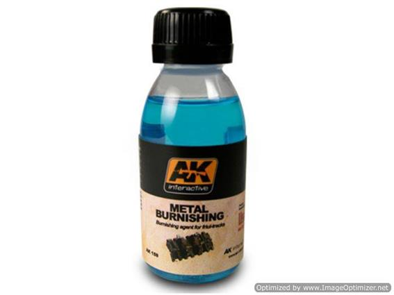 AK Interactive 100ml 00159 Metal Burnishing Fluid