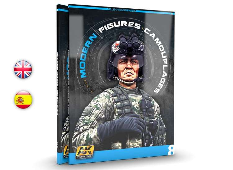 AK Interactive Learning Guide 8 - Modern Figures / Camouflaging 00247
