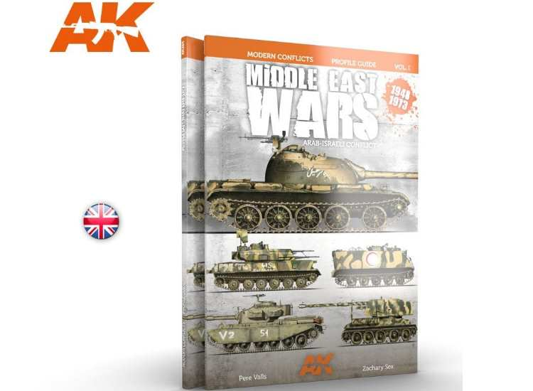 Middle East War 1948-1973 Vol 1 Profile Guide 1