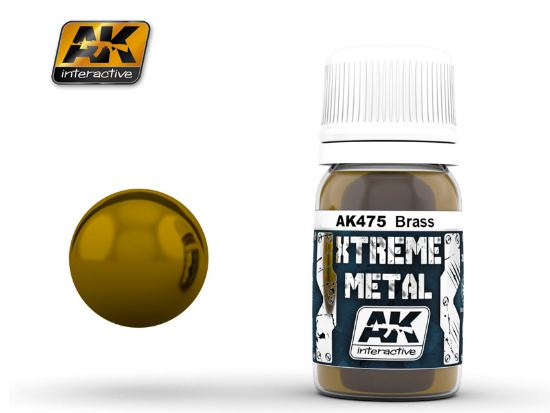 AK Interactive Xtreme Metal Paints - Brass 00475