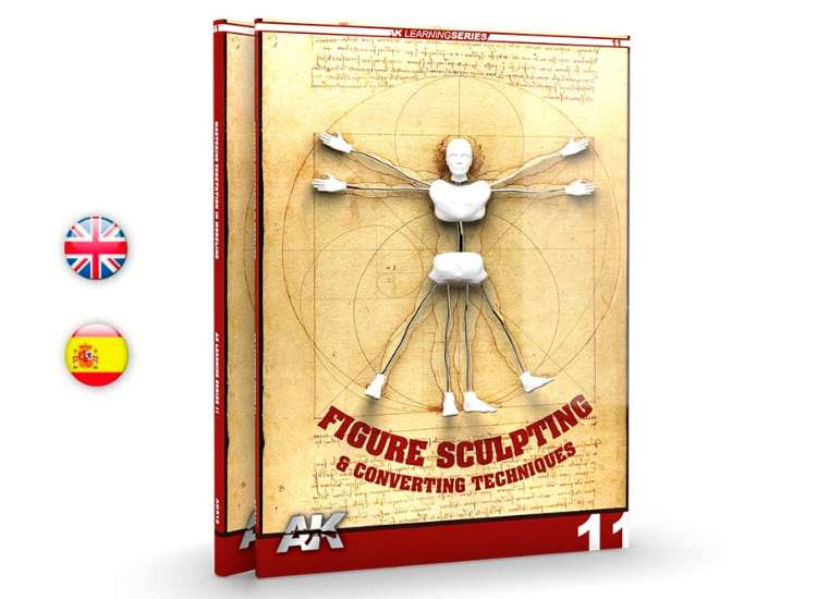 AK Interactive Learning Guide 11 - Figure Sculpting / Converting 00512