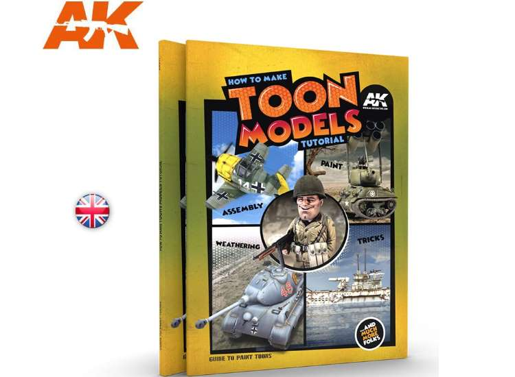 AK Interactive How To Make Toon Models Tutorial 00911