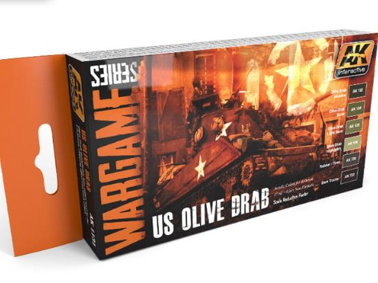 US Olive Drab Set - Wargame Series