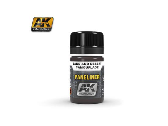 AK Interactive Paneliner for Sand and Desert Camouflage 02073