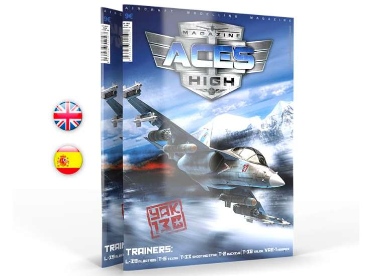 AK Interactive Aces High Magazine 18 - Trainers 02937
