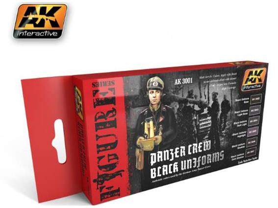Panzer Crew Black Uniforms Set