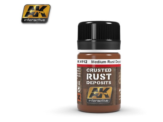 AK Interactive Medium Rust Deposit 04112