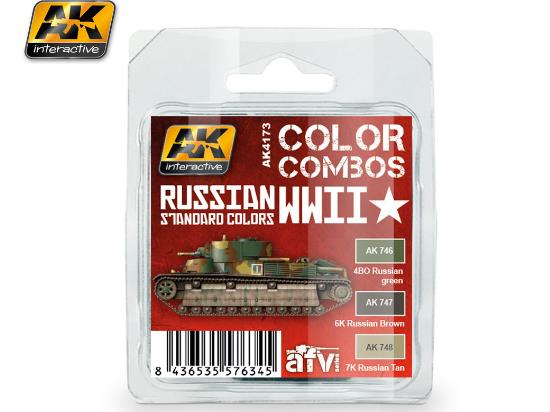 Russian WWII Standard Colours Combo Set