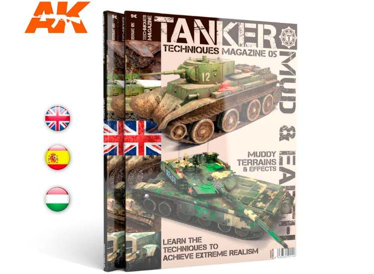 AK Interactive Tanker Magazine 5 - Mud and Earth 04823