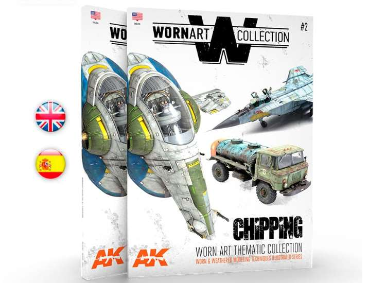 AK Interactive Worn Art Collection 2 - Chipping 04903