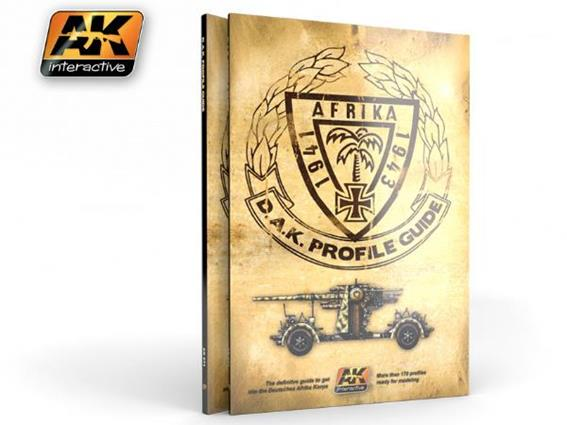 AK Interactive German DAK. Profile guide BOOK271