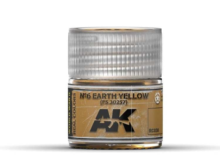 Real Colors - Nº6 Earth Yellow FS 30257