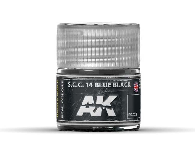 Real Colors - S.C.C. 14 Blue Black