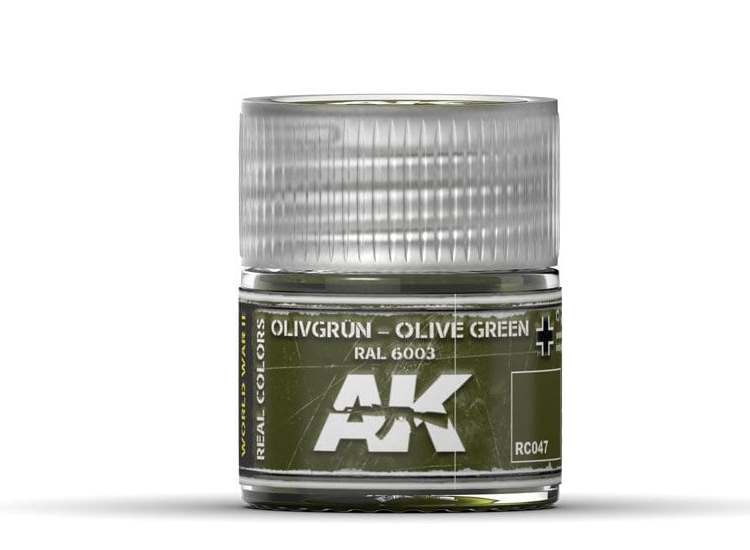 Real Colors - Olivgrün-Olive Green RAL 6003