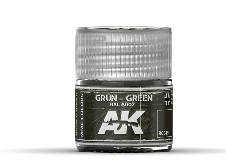 Real Colors - Grün-Green RAL 6007