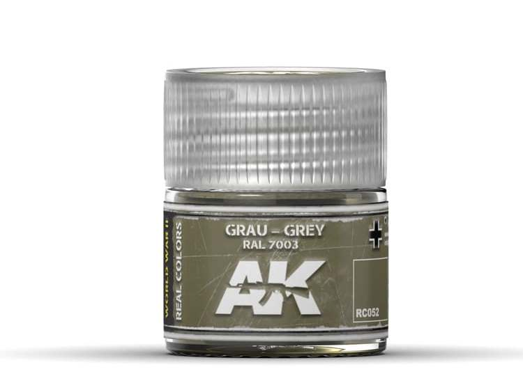 Real Colors - Grau-Grey RAL 7003 (RLM 02)
