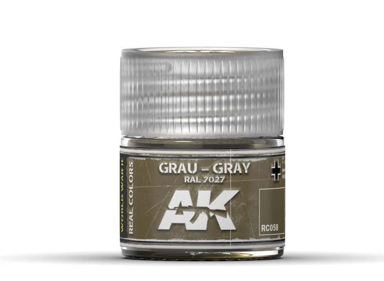 Real Colors - Grau-Gray RAL 7027