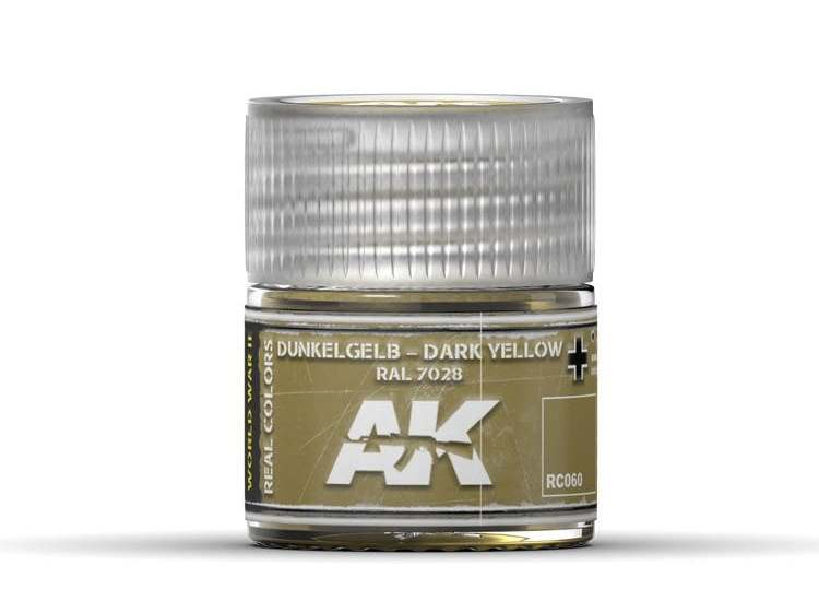 Real Colors - Dunkelgelb-Dark Yellow RAL 7028
