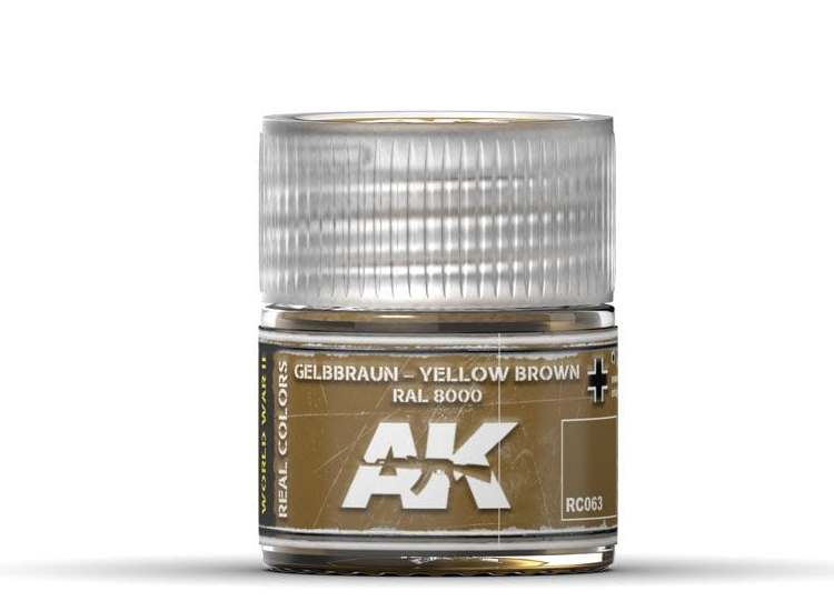 Real Colors - Gelbbraun-Yellow Brown RAL 8000
