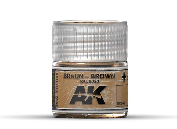 Real Colors - Braun-Brown RAL 8020