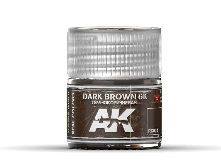 Real Colors - Dark Brown 6K