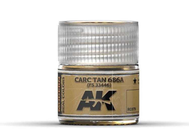 Real Colors - Carc Tan 686A