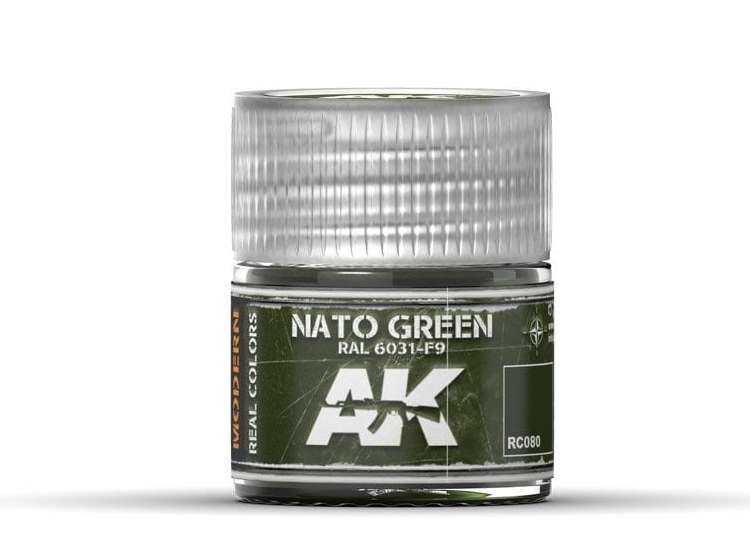 Real Colors - Nato Green RAL 6031 F9