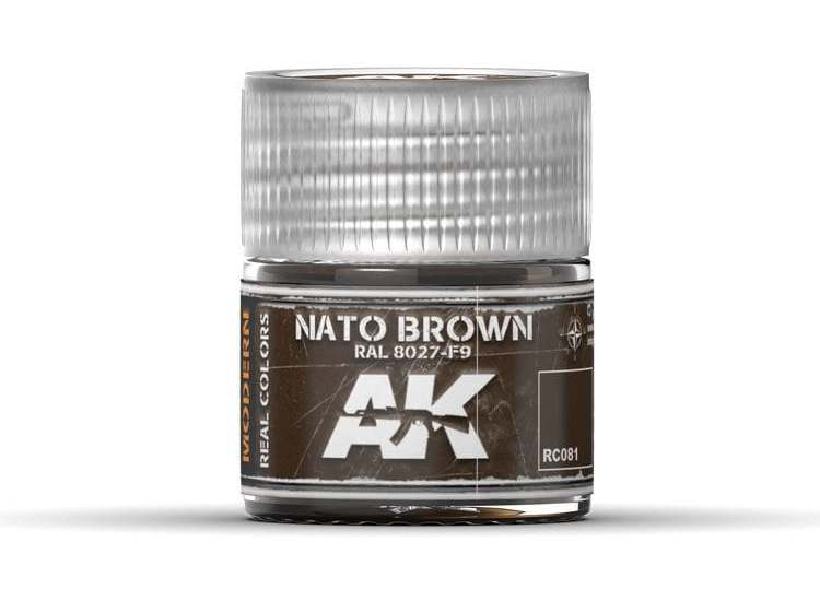 Real Colors - Nato Brown RAL 8027 F9